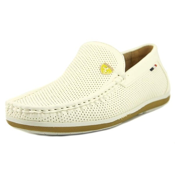 Bruno Marc New York Bush-02 White Loafers