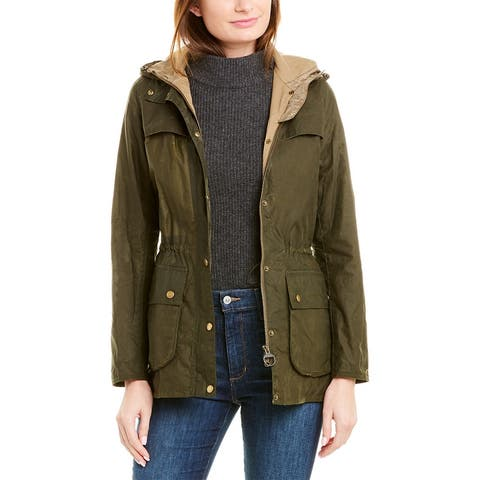 Barbour Durham Short Rain Jacket