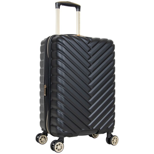"""Kenneth Cole Reaction 'Madison Square' 20"""" Chevron Hardside Expandable 8-Wheel Spinner Carry On Suitcase - Multiple Colors. Opens flyout."""