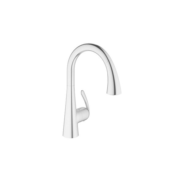 Grohe 32 298 1 Ladylux Pull Down High Arc Kitchen Faucet With 2