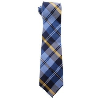 Lauren Ralph Lauren Mens Plaid Silk Neck Tie - o/s