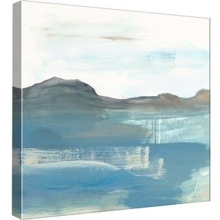 """PTM Images 9-99048  PTM Canvas Collection 12"""" x 12"""" - """"Seaview 1"""" Giclee Mountains Art Print on Canvas"""