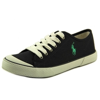 Polo Ralph Lauren Chaz Youth Round Toe Canvas Blue Sneakers