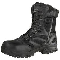 Thorogood Work Boot Mens Waterproof Leather Side Zip CT Black 804-6191