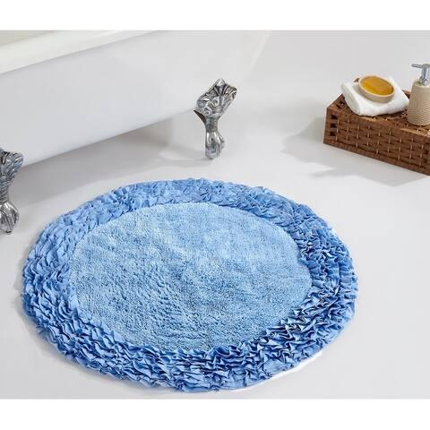 Better Trends Shaggy Border Bath Mat Rug 100% Cotton