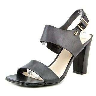 Cole Haan Octavia Heel Sandal II Open Toe Leather Sandals