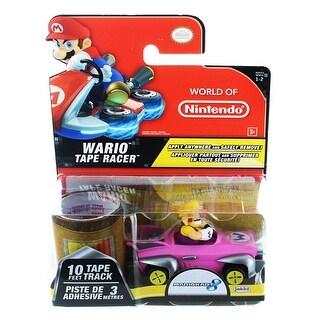 Nintendo Tape Racers Wave 2: Wario w/ Wario Stadium Tape - Multi