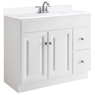 "Design House 545095 36"" Freestanding Single Vanity Cabinet Only"