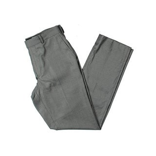 Kenneth Cole Reaction Mens Dress Pants Woven Office