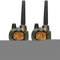 50-Channel Camo GMRS Radio Pair Pack with Batteries & Drop-In