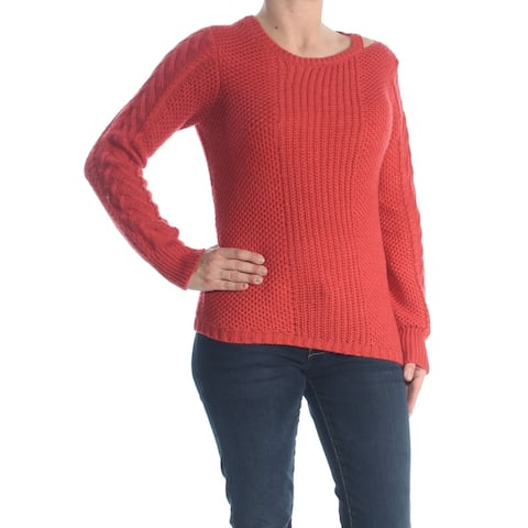 Jessica Simpson Women's Red Size Small S Cutout Pullover Sweater