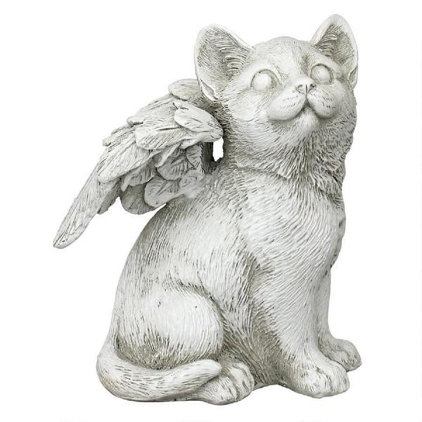 """5.5"""" Heaven sent Memorial Cat Outdoor Statue - N/A"""