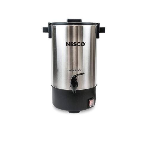 Nesco CU-25 Coffee urn, 25 Cups, Stainless Steel/Black
