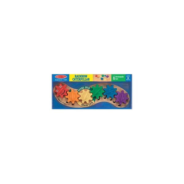 Melissa & Doug 3084 Caterpillar Gear Toy