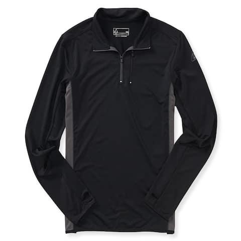 Aeropostale Mens Active Mock Neck Sweatshirt