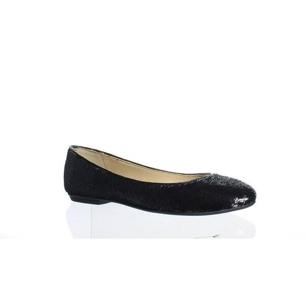 cfe4e8c8c1 Shop The Fix Womens Erica Black Sequin Ballet Flats Size 6 - On Sale ...