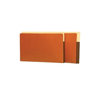 Star Products Heavy Duty Expanding File, Legal, 1-3/4 Inch Expansion, Redrope