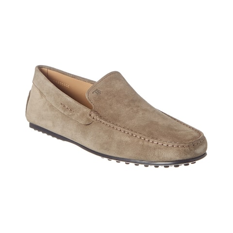 Tods City Gommino Suede Driving Shoe