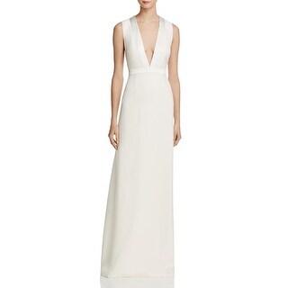 JILL Jill Stuart Womens Evening Dress Cut-Out Deep-V