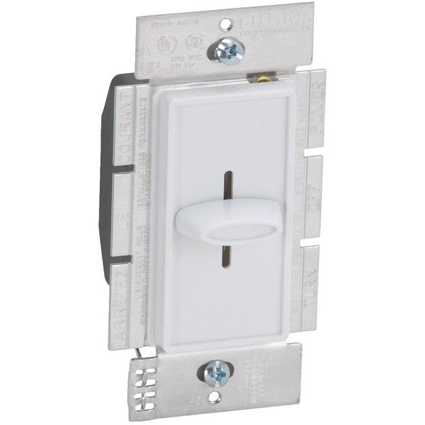 Lutron White Slide Dimmer