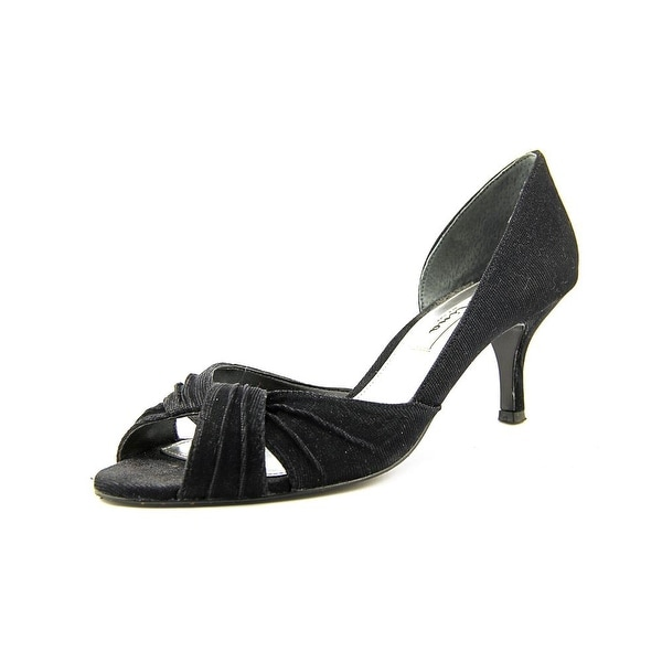 Nina Carrie Womens Black Bella Pumps