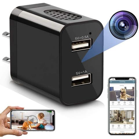 Spy Camera Wireless Hidden WiFi Charger Camera with Remote View