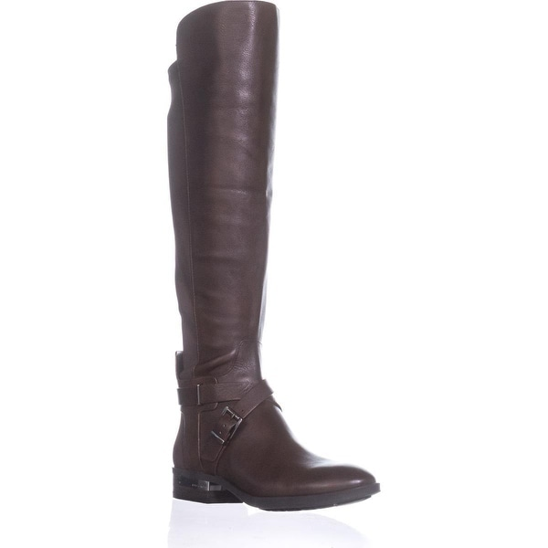 Vince Camuto Paton Wide Calf Fashion Boots, Sherwood Bark