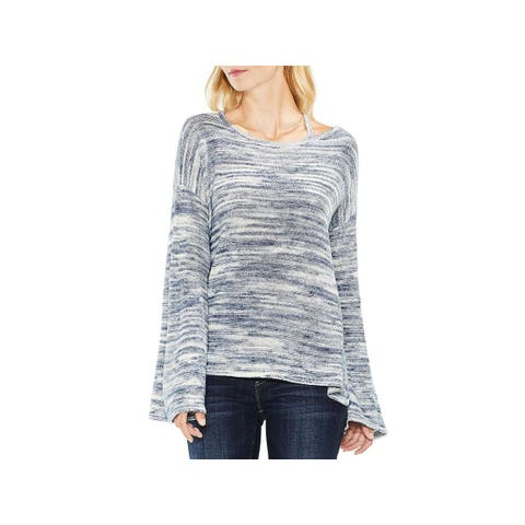 Vince Camuto Womens Pullover Sweater Bell Sleeve Fall