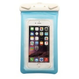 Syba Light Blue PVC/ ABS Lock Neck Strap Water Resistant and Floatable Bag for iPhone/ 5.5-inch Android Smartphone