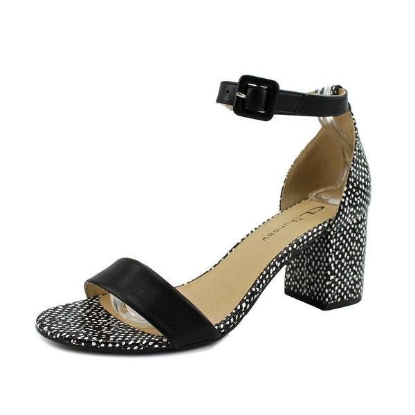 CL By Laundry Jody Women Open Toe Synthetic Black Sandals