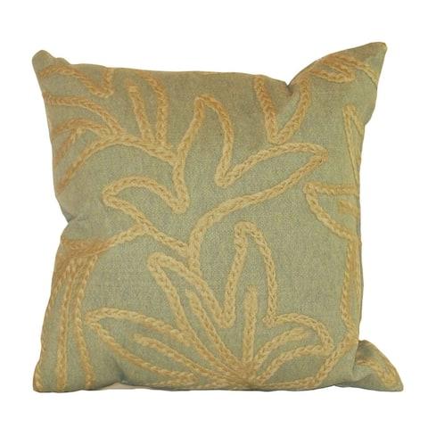 Liora Manne Verve II Crochet Flower Indoor/Outdoor Pillow