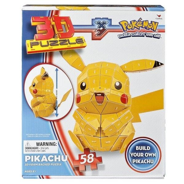Pokemon Pikachu 3D Foam Backed 58-Piece Puzzle - multi