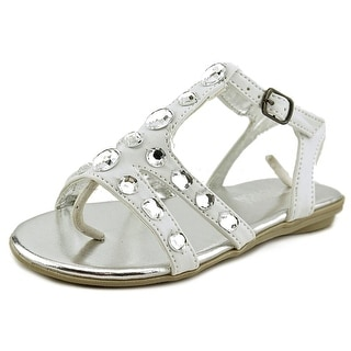 Kenneth Cole Reaction Brighten Beach Youth US 11 White Sandals