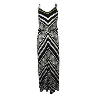 Vince Camuto Women's Chevron Maxi Dress