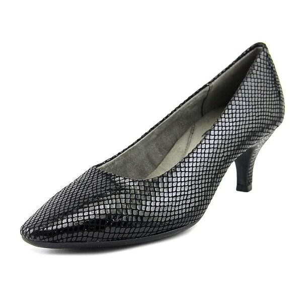 Aerosoles Stardom Women Pointed Toe Leather Black Heels