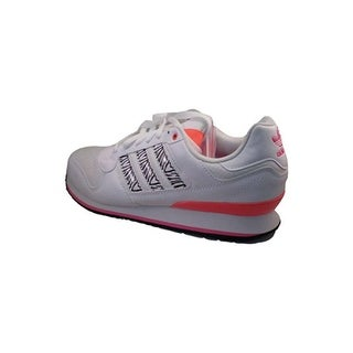 Adidas Womens ZXZ WLB Low Top Lace Up, White/Orange/Pink, Size 11.0