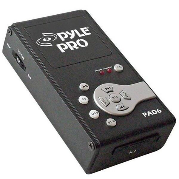 PylePro PAD6 USB Audio Interface & Recorder & SD Card