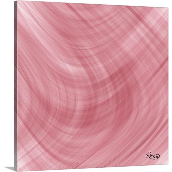 """""""Double Pink II"""" Canvas Wall Art"""
