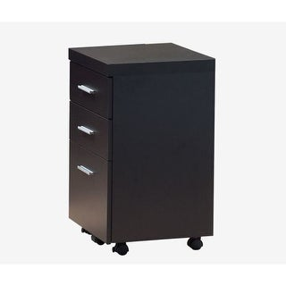Monarch Specialties File cabinet II File Storage Cabinet with 3 Drawers and Castors