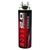 Boss 2 Farad Capacitor Red