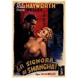 ''La Signora di Shanghai (The Lady from Shanghai)'' by Arturo Ballester Movie & TV Posters Art Print (43.75 x 34 in.)