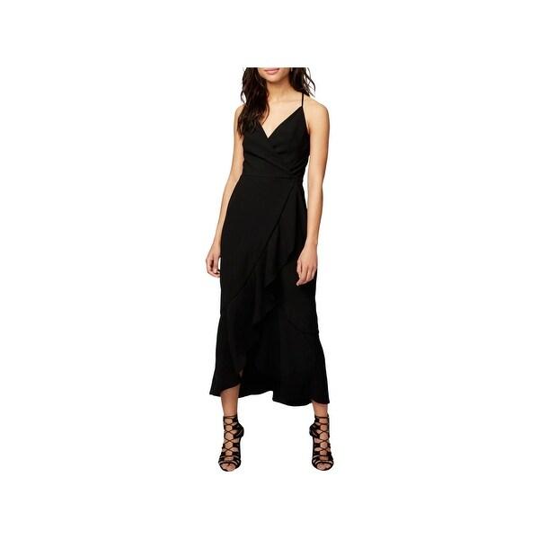 Shop Rachel Rachel Roy Womens Party Dress Surplice Faux Wrap - Free Shipping  Today - Overstock.com - 22740743 3543c7c1a084