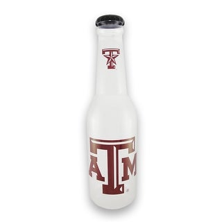 Texas A + M University Aggies Jumbo Bottle Coin Bank 21 In. - Multicolored