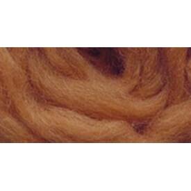 "Butterscotch - Wool Roving 12"" .22Oz"