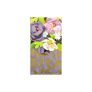 Punch Studio Note Pad Pocket Lg Floralie