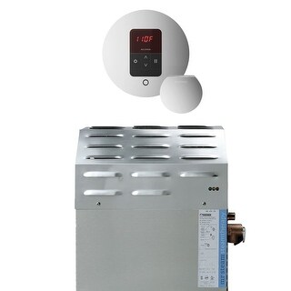 Mr Steam S1EC1ITEMPORD 10kW Steam Bath Generator with iTempo Round Control - Polished chrome - N/A