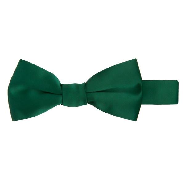 Charcoal Jacob Alexander Boys Regular Self Tie Prep Solid Color Necktie