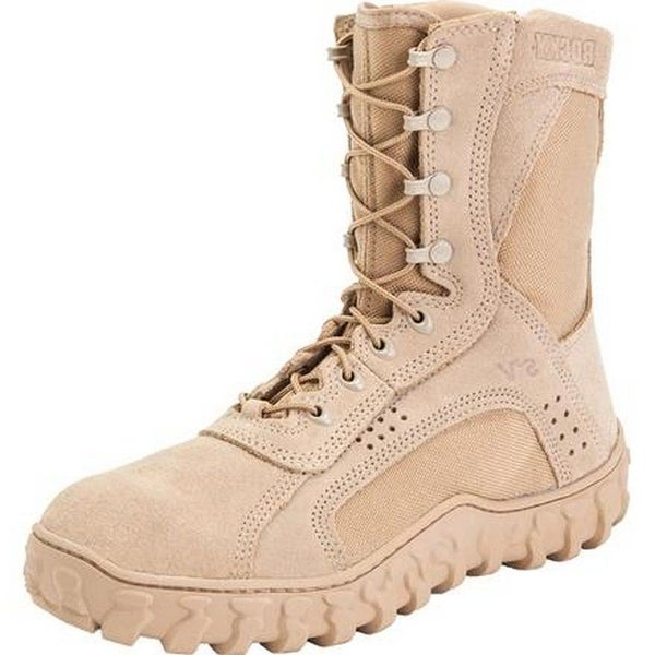 """Rocky Tactical Boots Mens 8"""" S2V Special Opps Tan"""