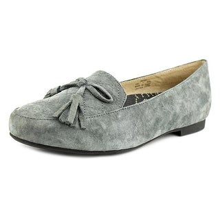 Propet Kate Women Round Toe Suede Gray Loafer