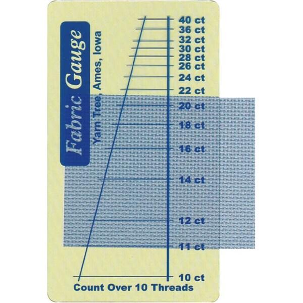 "Fabric Gauge 2""X3.5""-"
